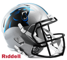 Carolina Panthers Riddell NFL Full Size Deluxe Replica Speed Football Helmet