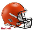 Cleveland Browns Riddell Authentic Revolution Speed NFL Full Size On Field Football Helmet