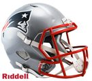 Curtis Martin - Autographed New England Patriots Riddell Speed Full Size Deluxe Football Helmet
