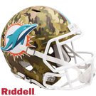 Dan Marino - Autographed Miami Dolphins Riddell Camo Speed Full Size Deluxe Football Helmet