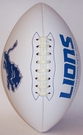 Detroit Lions Logo Full Size Signature Series Football
