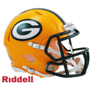 Green Bay Packers Speed Revolution Riddell Mini Football Helmet