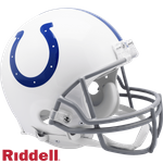 Indianapolis Colts Riddell Authentic NFL Full Size On Field Proline Football Helmet