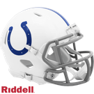 Indianapolis Colts Speed Revolution Riddell Mini Football Helmet - 2020 Logo