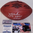 Jim McMahon - Autographed Official Wilson Leather Super Bowl XX NFL Football - BAS Beckett