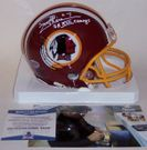 Joe Theismann - Riddell - Autographed Mini Helmet - Washington Redskins - BAS Beckett