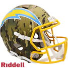 Justin Herbert - Autographed Los Angeles Chargers Riddell CAMO Speed Full Size Deluxe Football Helmet