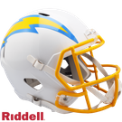 Justin Herbert - Autographed Los Angeles Chargers Riddell Speed Full Size Deluxe Football Helmet
