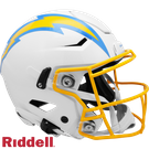 Justin Herbert - Autographed Los Angeles Chargers Speed Flex Riddell Full Size Authentic Pro Football Helmet