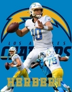Justin Herbert - Los Angeles Chargers -Autograph Signing Deadlline for Mail in items February 1st, 2021
