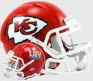 Kansas City Chiefs Super Bowl LIV Champs Riddell Speed Mini Football Helmet
