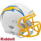 Los Angeles Chargers 2020 Speed Riddell Mini Football Helmet