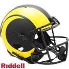 Los Angeles Rams - Eclipse Alternate Speed Riddell Full Size Deluxe Replica Football Helmet