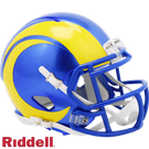 Los Angeles Rams Speed Revolution Riddell Mini Football Helmet