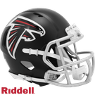Matt Ryan - Autographed Atlanta Falcons Riddell Speed Mini Football Helmet