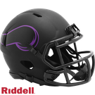 Minnesota Vikings - Eclipse Alternate Speed Riddell Mini Football Helmet