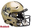 New Orleans Saints Riddell Authentic FLEX Speed NFL Full Size On Field Football Helmet
