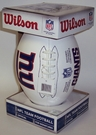 New York Giants - Wilson F1193 NFL® Signature Series Autograph Football