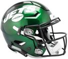 New York Jets 2019 Logo Speed Riddell FLEX Full Size Authentic Pro Football Helmet