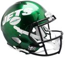 New York Jets 2019 Logo Speed Riddell Full Size Authentic Pro Football Helmet