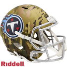 Derrick Henry - Autographed Tennessee Titans Riddell Camo Speed Full Size Deluxe Football Helmet