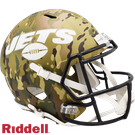 Ladainian Tomlinson - Autographed Houston NY Jets Riddell Camo Speed Full Size Deluxe Football Helmet