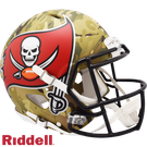 Chris Godwin - Autographed Tampa Bay Bucs Riddell Camo Full Size Speed Authentic Proline Football Helmet