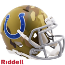 Peyton Manning - Autographed Indianapolis Colts Camo Speed Riddell Mini Football Helmet