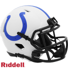 Peyton Manning - Autographed Indianapolis Colts Lunar Eclipse Speed Riddell Mini Football Helmet