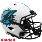 Dan Marino - Autographed Miami Dolphins Riddell Lunar Eclipse Speed Full Size Deluxe Football Helmet