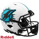 Dan Marino - Autographed Miami Dolphins Riddell Lunar Eclipse Speed Full Size Authentic Proline Football Helmet