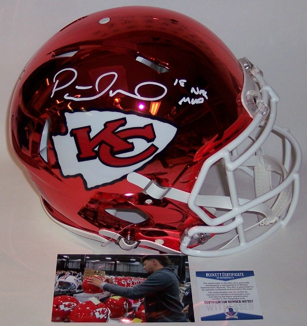 Autographed Official Full Size Riddell