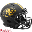 San Francisco 49ers - Eclipse Alternate Speed Riddell Mini Football Helmet