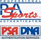 PSA/DNA Authentication Services-Certificate of Authenticity