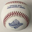 Rawlings Official 1993 World Series Game Baseball - Model Number: WSBB93