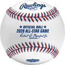Rawlings Official 2020 MLB All Star Games Baseball - Model Number: ASBB20