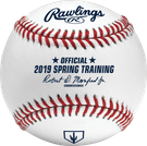 Rawlings Official 2019 Arizona Spring Training MLB Baseball - Model Number: ROMLBSTAZ19