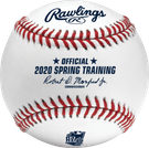 Rawlings Official 2020 Arizona Spring Training MLB Baseball - Model Number: ROMLBSTAZ120