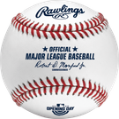 Rawlings Official 2020 Opening Day MLB Baseball - Model Number: ROMLBOD20