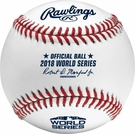 Rawlings Official 2018 World Series Game Baseball - Model Number: WSBB18