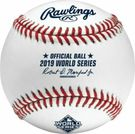 Rawlings Official 2019 World Series Game Baseball - Model Number: WSBB19