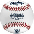 Rawlings Official 2020 World Series Game Baseball - Model Number: WSBB20