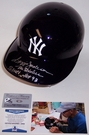 Reggie Jackson - Rawlings - Autographed Full Size Authentic Batting Helmet - New York Yankees - BAS Beckett