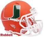 Riddell NCAA AMP Speed Mini, Full Size Replica and Authentic Football Helmets