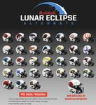 Riddell NFL Lunar Eclpise Speed Mini, Full Size Replica and Authentic Football Helmets