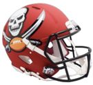 Tampa Bay Bucs - Amp Alternate Speed Riddell Full Size Authentic Proline Football Helmet