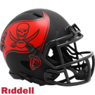 Tampa Bay Bucs - Eclipse Alternate Speed Riddell Mini Football Helmet