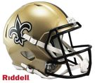 Taysom Hill - Autographed New Orleans Saints Riddell Speed Full Size Deluxe Football Helmet