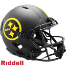 Terry Bradshaw - Autographed Pittsburgh Steelers Riddell Eclipse Speed Full Size Authentic Proline Football Helmet