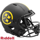 Terry Bradshaw - Autographed Pittsburgh Steelers Riddell Eclipse Speed Full Size Deluxe Football Helmet